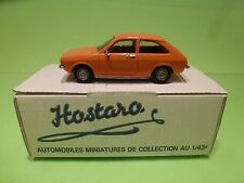 HOSTARO 43 BUILT KIT  OPEL KADETT C CITY - ORANGE 1:43 - NICE IN BOX