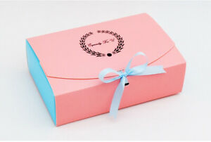 Pink Blue Bakery Box.Cake/ cupcake box /Cookies Macaron/Gift Box  ( pack of 12)