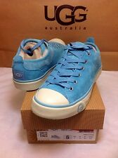 UGG Australia EVERA Woman's Sneaker Suede Lagoon Color Size 5 US