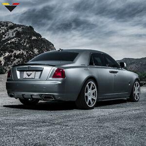 Fits 10-18 Rolls Royce Ghost Vorsteiner V-GR Rear Diffuser - Carbon Fiber
