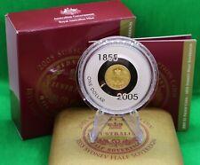 Australien $1 2005 1855 Sydney Half Sovereign 60,5g Silber Australia Proof
