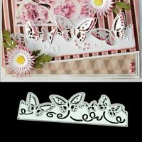 Butterfly Lace DIY Metal Cutting Dies Stencil Scrapbooking Photo Album Stamp
