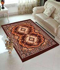 Exporthub Coffee Color Traditional Design Jute Filling Sheet Carpet (5 x7 feet)