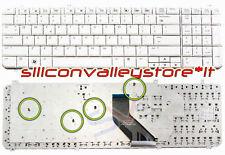 Tastiera USA Bianco HP Pavilion DV6-1116TX, DV6-1117EL, DV6-1117ES, DV6-1117TX
