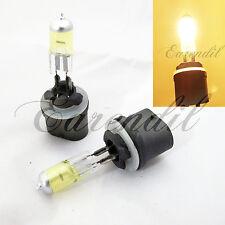 893 Yellow Fog Light 3000K Halogen Xenon #Pt1 Headlight Bulb Replacement x2