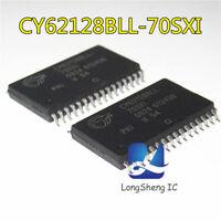 2pcs  CY62128BLL-70SXI  SOIC-32 NEW