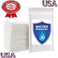 10, 25, 50 and 100 Poly Bubble Mailers Padded Envelopes 5x6 5x7 6x9 7x10 8.5x11