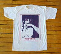 Rare Vintage 90s Madonna Pop Rock T Shirt Band Tour Concert Reprint T Shirt
