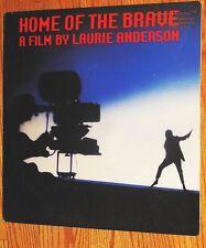 VINYL LP Laurie Anderson - Home Of The Brave / promo /Art Experimental Prog Rock