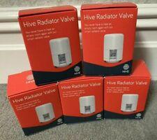 New 5 x HIVE Home TRV Thermostatic Radiator Valve UK7004240 #2