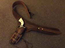 Buscadero Quick Draw Belt & Holster To Fit Denix Colt 45 Revolver Made To Order