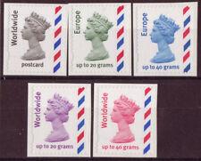 Timbres du Royaume-Uni avec 10 timbres