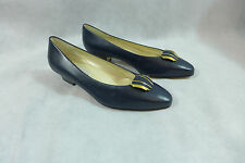 Womens Shoes Calico Pump  Fountain Navy 8M Leather New
