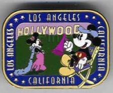 DISNEY PINS~LE 1000~DISNEY AUCTIONS~DIRECTOR MICKEY/MINNIE IN LOS ANGELES