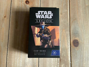 STAR WARS LEGIÓN - CAD BANE - Juego de miniaturas - FFG Español