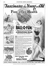Ball - O - Fun  -  Rubber Products Corp. - Grand Rapids, Mich.   - 1929