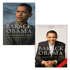Barack Obama 2 Books Collection Set (Dreams From My Father,The Audacity of Hope)