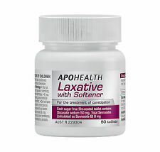 => APOHEALTH LAXATIVE WITH SOFTENER 90 TABLETS AS COLOXYL WITH SENNA