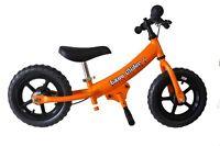 "Glide Bikes 12"" EZee Glider Balance Bike with EVA Tires"