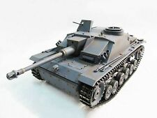 Complete Metal 1/16 Mato Stug III RTR Infrared Recoil RC Tank Grey Color 1226