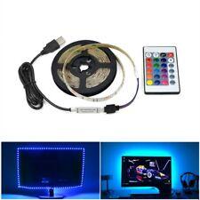 5V USB LED Strip light RGB /White/Warm White 2835 3528 SMD TV Backlight