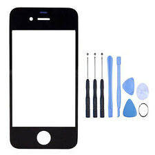 Front Touch Screen Outer Glass Lens Panel Replacement For iPhone 4 4G 4S New