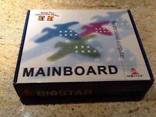 Brand NEW IN BOX Motherboard Biostar M6TWC Socket 370 Celeron