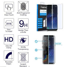 HD Tempered Glass Protective Screen Protector Film for Samsung Galaxy S8