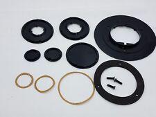 8Pc Wiremold 896Pck-Blk Black Polycarbonate Cover Power Communication Floorbox