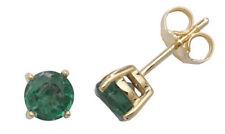 Pendientes de joyería con diamantes esmeralda