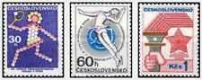Timbres Sports Tchécoslovaquie 1966/8 ** lot 24098