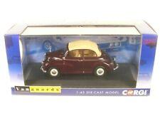 Morris Minor 1000 Convertible (maroon B) RHD - 1:43