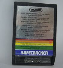 "CARTUCCIA IMAGIC "" MATTEL INTELLIVISION "" 1983 - SAFECRACKER - VINTAGE - (GIO-4)"