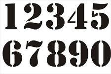 Numbers Stencil, A4/A5/A6