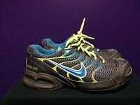 Nike Air Max Torch 4 IV women  Shoes 6.5 Cross Training Sneakers Gray Blue green