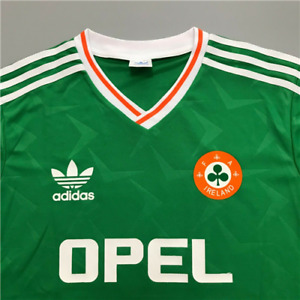 Republic Of Ireland 1990 Retro Football Shirt KEANE#10 Vintage Soccer Jersey