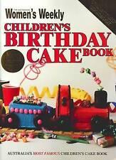 Children's Birthday Cake Book - The Australian Women's weekly VINTAGE