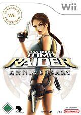 Tomb Raider Anniversary NINTENDO WII Y WII U Juego De Niños Muy Buen Estado