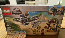 "LEGO 2019 Jurassic World ""Dilophosaurus on the Loose"" Set 75934 NIB"