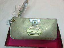 NWT Women's XOXO Shimmer Cream/Gold Small Purse Handbag Style 54217 $44