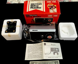 Vintage *NEW in BOX  SEARS bike Shop BIKE Radio Stingray Handlebar Radio/Schwinn