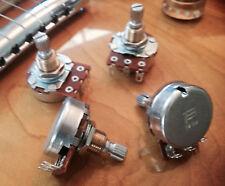 Set of Four (4X) BOURNS 500K POTS SHORT SPLIT SHAFT AUDIO TAPER - Low Friction