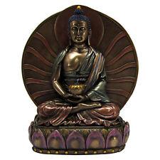 Buddha Amitabha Statue - 6 inch Cold Cast Bronze - Buddhism Statuary Icon