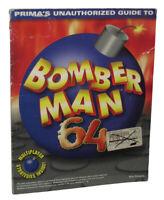 Bomberman 64 Unauthorized Game Secrets Prima Strategy Guide Book