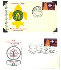 PAKISTAN BOY SCOUTS SCOTT #234 STAMP EXPERIMENTAL P.O. FDC FIRST DAY COVERS 1967