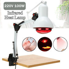 100W 220V Infrared Heat Lamp Therapy Light Therapeutic Pain Relief Health