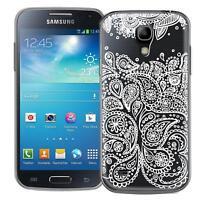 Schutz Hülle Samsung Galaxy S4 Hülle Silikon Handy Tasche Mandala Case Cover
