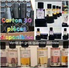 lot de 8 parfums Collection Privé Bois N°1 Black Edition gain d'argent