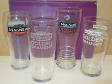 Collection of Four different Magners pint glasses - bbq party gift fathers day