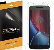 4X Supershieldz Clear Screen Protector for Motorola Moto G4 Plus